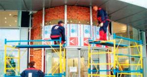 Подоблицовочные конструкции для вентилируемых фасадов