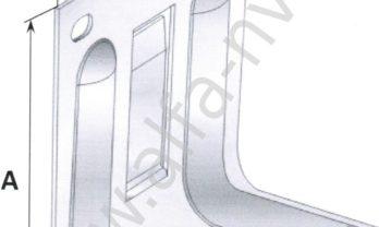 Схема кронштейна ККУ